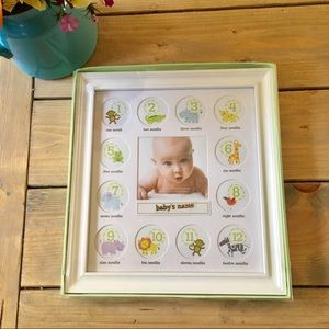 Stepping Stones Baby First Year Frame